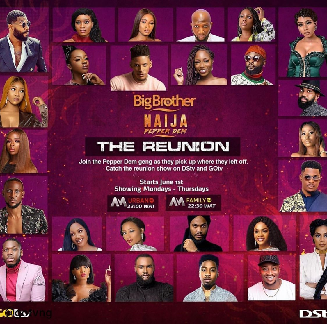 BBNaija Reunion 2020