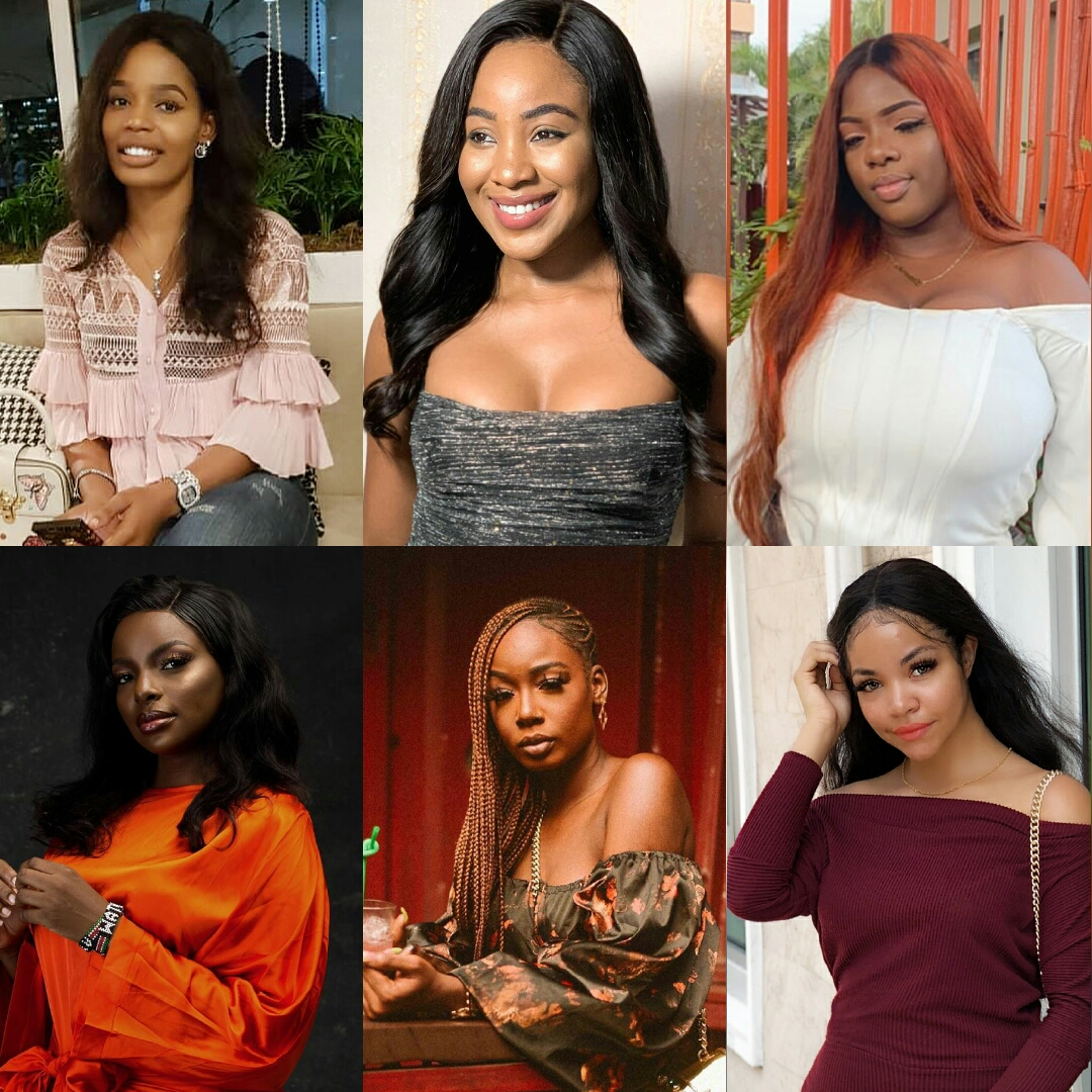 Most Beautiful BBNaija Housemates