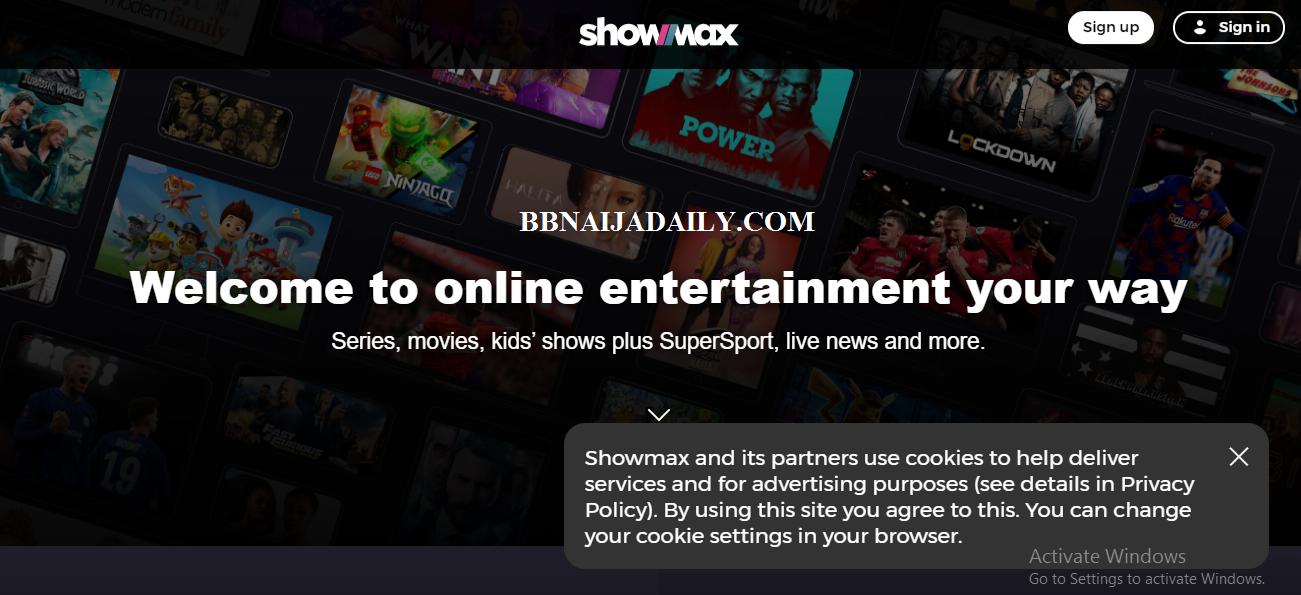 Watch BBNaija Online