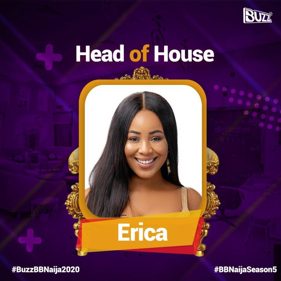 Erica head of house