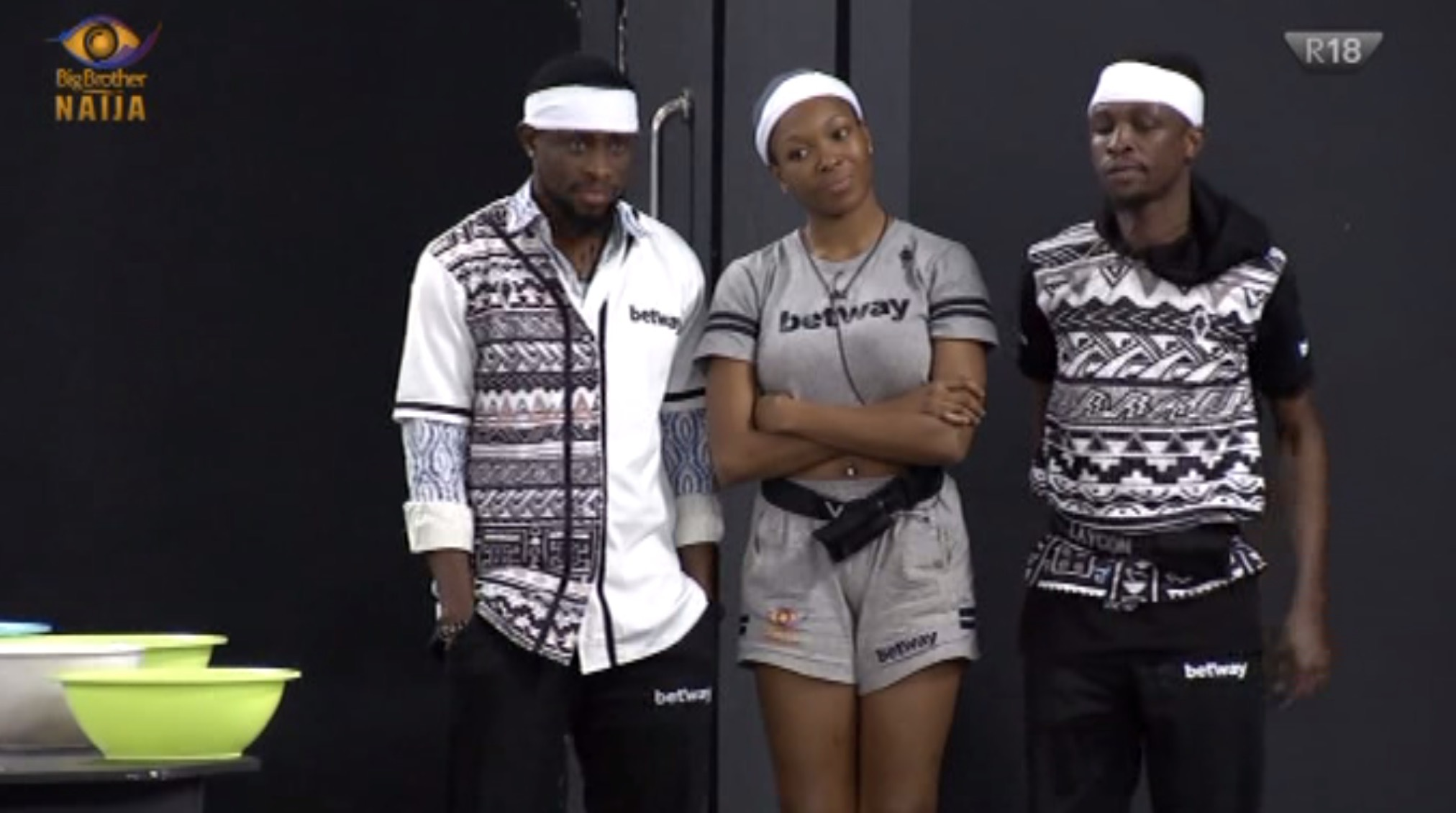BBNaija Week 9 Team white