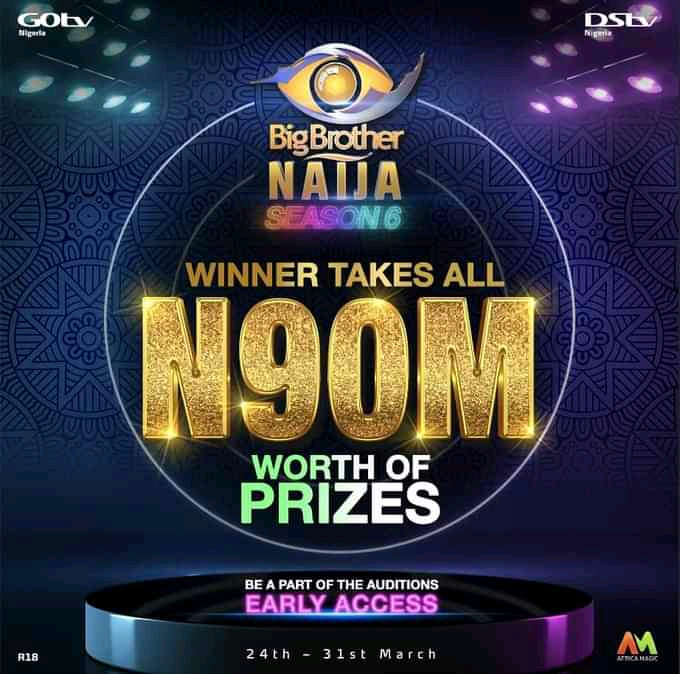BBNaija Season Winner Grand Prize