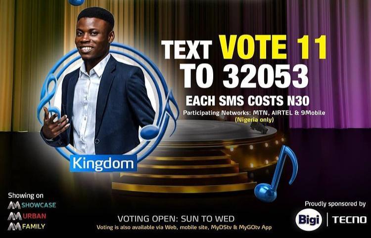 Vote Kingdom Nigerian Idol